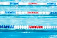 Swim meet. Kids swim meet in outdoor pool during the summer royalty free stock images