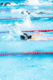 Swim meet Stock Images