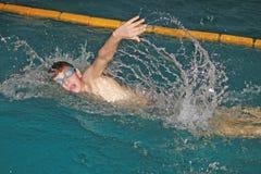 Swim meeting Jovanca Micic 2012 Royalty Free Stock Image