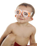Swim Ready Royalty Free Stock Photos