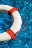 Swim rings in water Royalty Free Stock Images