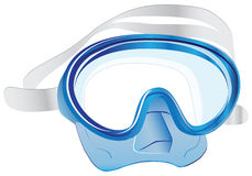 Swim scuba mask Royalty Free Stock Photography