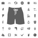 Swim suit icon Stock Photos