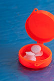 Swim Training Ear Plugs Royalty Free Stock Image