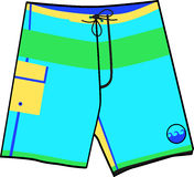 Swim Trunks Royalty Free Stock Photography