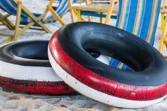 Swim tube beach thailand Stock Images