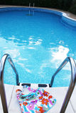 Swim wear and pool. Swim wear and fresh swimming pool water Stock Photos