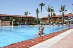 Swiming girl Stock Photos