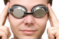 Swiming glasses Stock Image
