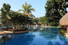 Swiming pool. China resort, in sanya,hainan Royalty Free Stock Image