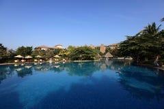 Swiming pool. China resort, in sanya,hainan Royalty Free Stock Photo