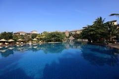 Swiming pool. China resort, in sanya,hainan Royalty Free Stock Photography
