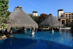 Swiming pool. China resort, in sanya,hainan Stock Photo