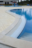 Swiming Pool. Detail of a swiming poll Royalty Free Stock Photo