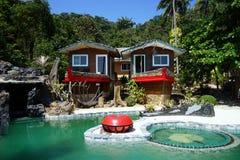 Swiming pool in hotel Royalty Free Stock Photo