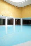 Swiming pool inside building. Beautiful swiming pool inside euporean style building Stock Image