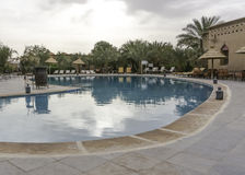 Swiming pool in ouarzazate Stock Images