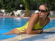 Swiming women Royalty Free Stock Photos