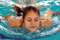 Swimmer Royalty Free Stock Image