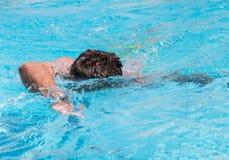 swimmer immagine stock
