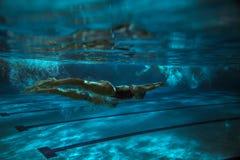 swimmer fotografia stock libera da diritti