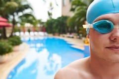 swimmer fotografia stock
