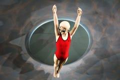 swimmer fotografie stock libere da diritti