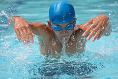 Swimmer in action Royalty Free Stock Photo