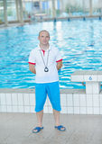 Swimmer athlete Royalty Free Stock Images