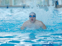 Swimmer athlete Royalty Free Stock Image