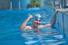 Swimmer athlete Stock Images