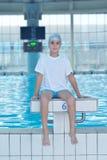 Swimmer athlete Stock Photo