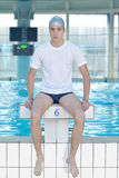 Swimmer athlete Stock Images