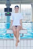Swimmer athlete Stock Image