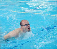 Swimmer athlete Stock Photo