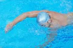 Swimmer athlete Royalty Free Stock Image