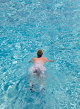 Swimmer.Close up Royalty Free Stock Image