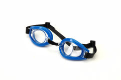 Swimmer eyeglass Stock Photo