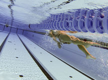 Swimmer 011 Stock Images