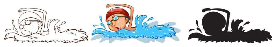 Swimmer Stock Photos