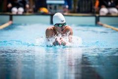 A swimmer Stock Photos