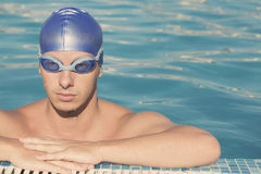 Swimmer portrait Royalty Free Stock Photography