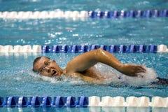 Swimmer, Training, Lane Stock Photos