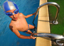 Swimmer2 imagem de stock royalty free
