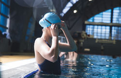 Swimmers Royalty Free Stock Images
