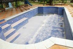 Пустой бассейн Swimmimg Стоковые Изображения RF
