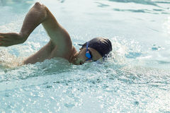 Swimmimg practise Stock Photo