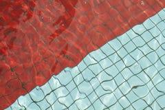 Swimminf水池地板 免版税库存图片