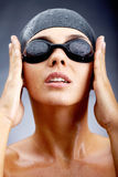 After swimming Stock Photography