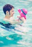 swimming Royalty-vrije Stock Afbeeldingen